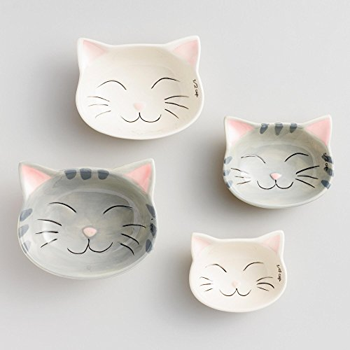 Cat Measuring Cups Nested Ceramic product image