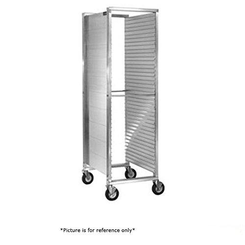 CresCor 252-1839-Z Correctional Full Height Mobile Utility Rack