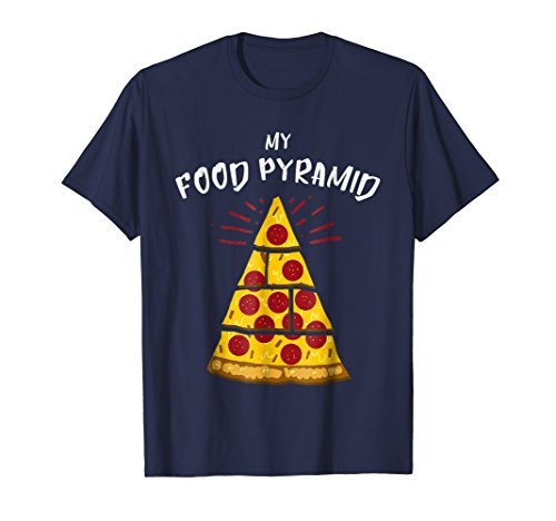 food pyramid pizza shirt - 2
