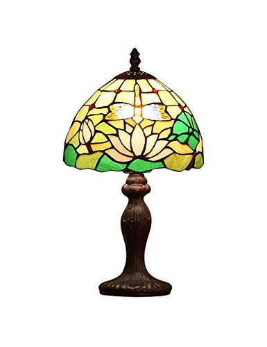 KCoob Lamp Table Floral Lotus and Leaves Lamp Cover for Living Room and Dining Room