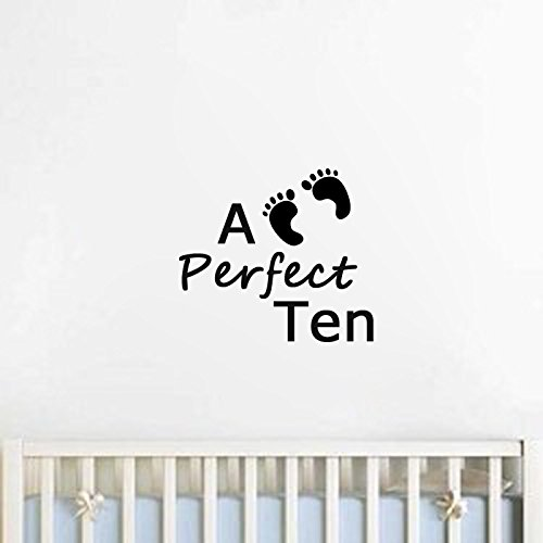 Perfect Ten-on Sale Nursery Room Wall Decals-childrens Bedroom Wall Decal