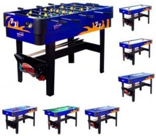 Multijuegos Billar,Futbolin,Ping Pong,etc.. 7 en 1 PL0278: Amazon ...