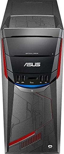 Asus G11CD Oculus Ready High Performance Gaming Desktop, Intel Smart Quad-Core i5, 16GB RAM, 1TB HDD + 512GB SSD, NVIDIA GeForce GTX 1060, SuperMulti DVD, Win10