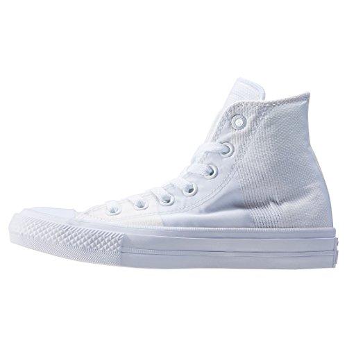 all Unisex Adulto White Collo Sneaker Converse II Taylor a Chuck Star Alto wEvUEz