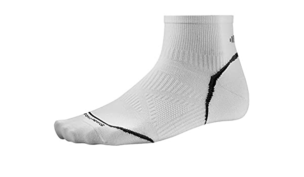 e7e775726 Smartwool Men s PhD Cycle Ultra Light Mini Socks (White) Large by  SmartWool