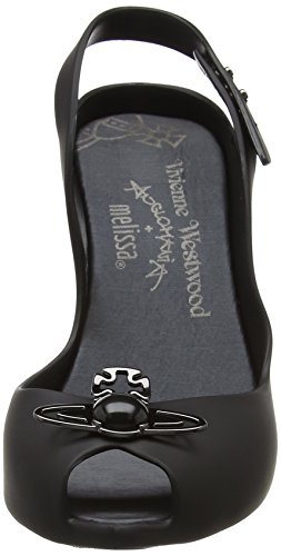 para Black VW con Vivienne Mujer Matte de 18 Tobillo Orb Tira amp; Lady Westwood Dragon 1003 Negro Zapatos Melissa WWwRnFqxZ