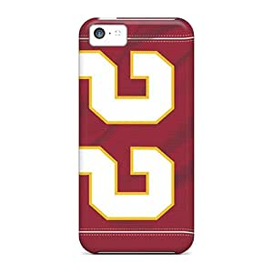 New Lajonline Super Strong Kansas City Chiefs Tpu Case Cover For Iphone 5c