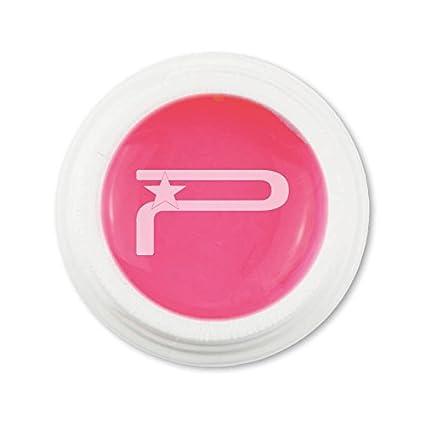 Gel UV rosa barbie color base 5 ml reconstrucción uñas Media consistenza Número 25