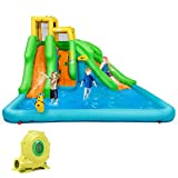 Best Inflatable Water Slides - BOUNTECH Inflatable Bounce House, Mighty Water Pool Review