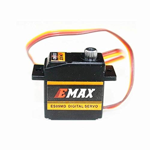 Part & Accessories 4Pcs/lot ES09MD Dual-bearing Special Swash Metal Digital Servo For TREX Align 450 Helicopter(es08ma es08md es08a)