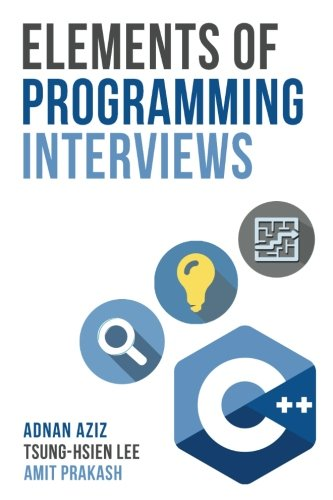 Elements Programming Interviews Insiders Guide