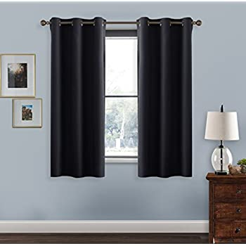 blackout curtains window treatment drapes pony dance day gift solid color blackout curtain panels