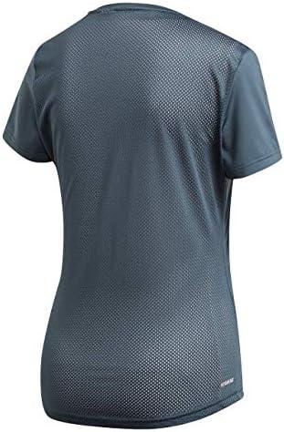 Adidas W D2M LO Tee CBLACK/Blue/FTWWHT