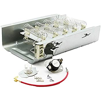 Amazon whirlpool 3387747 element for dryer home improvement 279838 and 279816 dryer heating element and thermostat combo pack for whirlpool kenmore electric dryers publicscrutiny Image collections