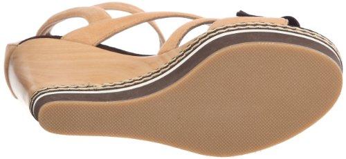 Colori C20020 C20020 - Sandalias de ante para mujer Marrón