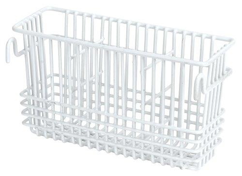 Utensil Drying Rack Compartment White