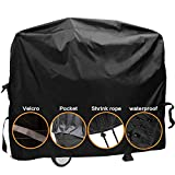 "8. Dekugaa Grill Cover,(58"" Black) BBQ Special Grill Cover,Waterproof and UV Resistant Material, Durable and Convenient,Fits Grills of Weber Char-Broil Nexgrill Brinkmann and More (L)"