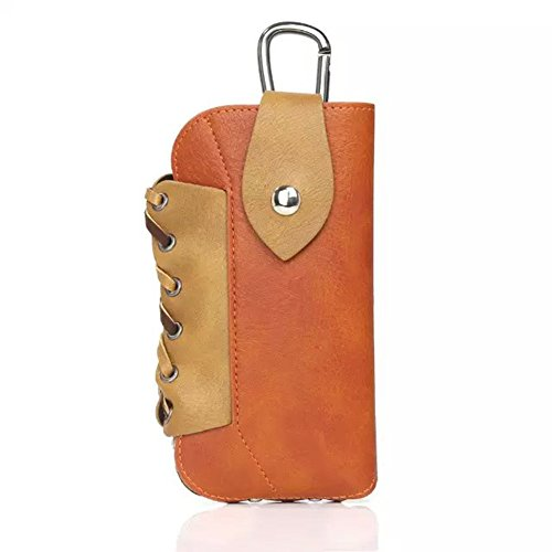 Cosply Carabiner Belt Multifunction Pouch Bag, Hankuke Mini Cell phone Carrying Case for West Cowboy, Gunman Clive, Sunset Riders, Texas Tom - Costume Rider Tom