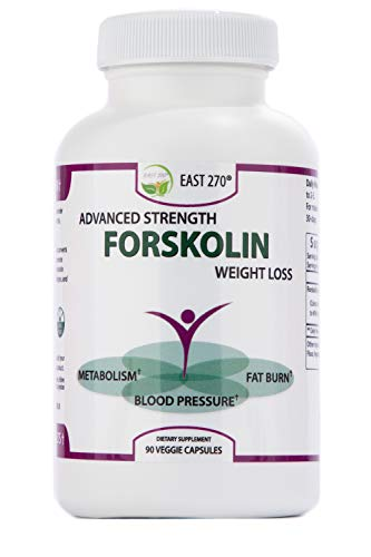 Forskolin Extract for Weight Loss. 90 Pure Forskolin Diet Pills & Belly Buster Supplement. Metabolism Booster, Carb Blocker, Premium Appetite Suppressant & Fat Burner for Women and Men
