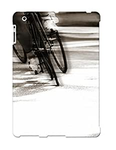 Bjsuon-1205-atnxw Tpu Phone Case With Fashionable Look For Ipad 2/3/4 - Men Who Ride Case For Christmas Day's Gift