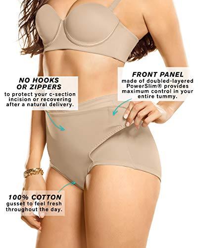 Leonisa Postpartum Girdle High Waist Panty With Adjustable Import