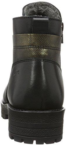 Scarpe Marc Damen Melissa Biker Boots Schwarz (black-combi)