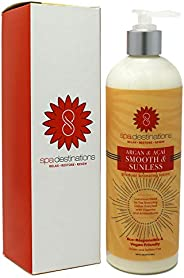 Spa Destinations Argan & Açaí Smooth & Sunless Gradual Bronzing Lotion