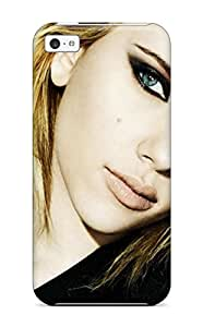 Hot 7473893K60523542 New Style Tpu 5c Protective Case Cover/ Iphone Case - Scarlett Johansson Celebrity People Celebrity