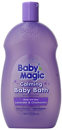 Baby Calming Milk (Baby Magic Calming Baby Bath, Lavender and Chamomile, 16.5 Ounces (Pack of 6))