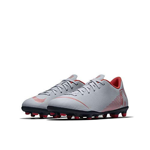 060 Calcetto 12 Indoor Multicolore Crimson Vapor Gs Jr Bambini Da Lt Club Grey Black Nike Scarpe Fg mg Unisex – wolf 4wRzpE