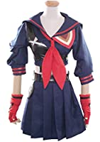 HOLRAN Halloween Girl's Battlesuit Ryuko Matoi Dress Outfit Cosplay