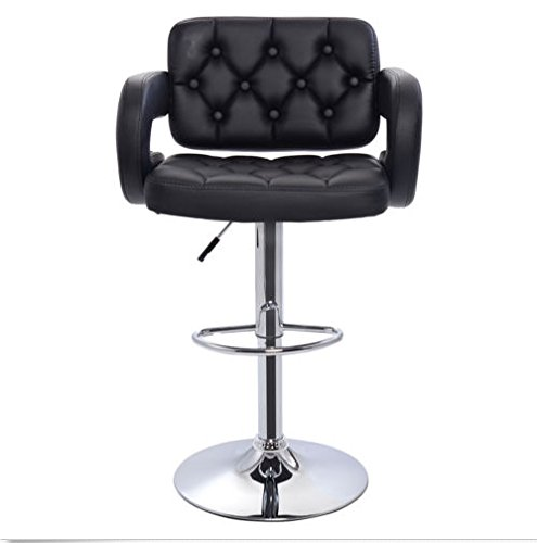 Deluxe Hydraulic Barber Chair Styling Salon Work Station Chair Qi Shi