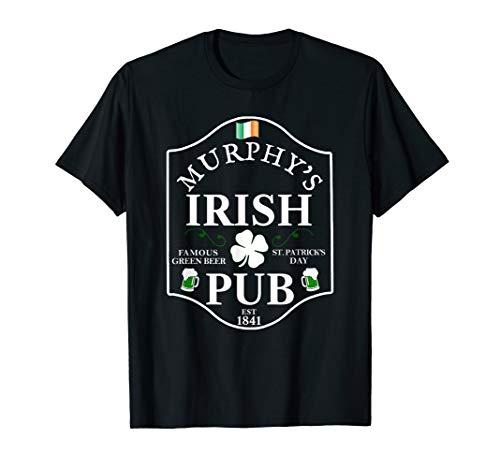 MURPHY'S IRISH PUB St. Patrick's Day Personalized T Shirt