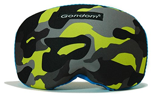 Gondom goggle cover (Yellow/blue - Cover Goggle Protective