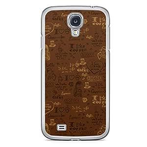 Tea Time Samsung Galaxy S4 Transparent Edge Case - Design 6