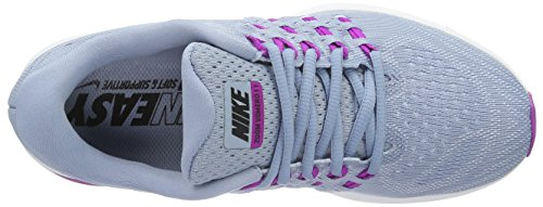 Nike Air Zoom Vomero 11 - Zapatillas de Entrenamiento Mujer Azul (Blue Grey / Blk-Hypr Vlt-Bl Tnt)