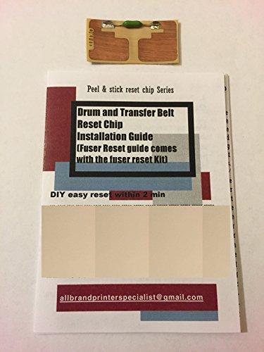 Transfer Belt Okidata - Super Easy Drum, Transfer Belt Reset Solution for OKI OKIDATA C801, C810, C821, C830, MC850, MC860, MC861 n dn dtn hdtn mfp (1x Transfer Belt Reset Chip)