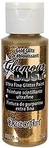 Artdeco DecoArt Glamour Dust - Pintura de purpurina, color dorado