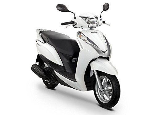 thaiFH.com New Honda Lead 125cc Fi 2013 White Motorcycle Scooter for Sale