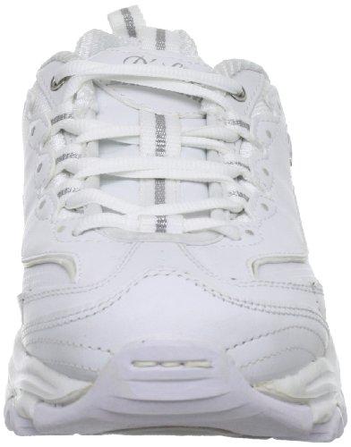 Skechers Femme nbsp;centennial silver D'lites Basket White HwHZqr