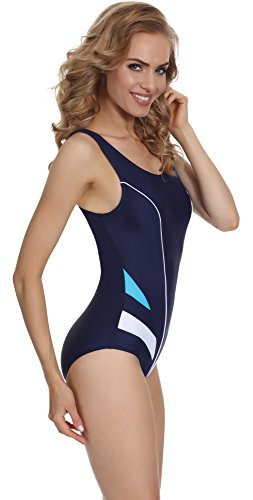 Bagno per da Intero Costume Blu Blu Marino Merry Donna Style MSAQ17 qwUpHxtWf