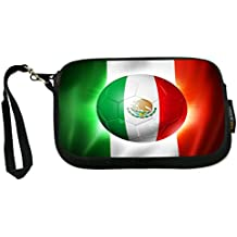 Rikki Knight Brazil World Cup 2014 Portugal Football Soccer Flag - Neoprene Clutch Wristlet Coin Purse with Safety Closure - Ideal case for Cosmetics Case, Camera Case, Cell Phones, Passport, etc..