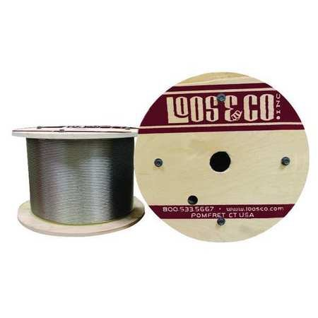 Cable, 50 ft. L, 3/16 in., 800 lb.