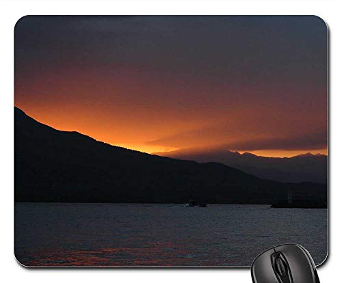 Mouse Pads - Landscape Mountain Sunset