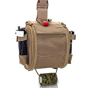 Elite Bags - QUICKAIDŽS, Botiquín Paramédico Pernera con Sistema Molle 4