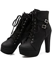 Amazon.com: Platform - Boots / Shoes: Clothing, Shoes & Jewelry