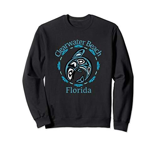 (Clearwater Beach T-Shirt Vintage Tribal Fish Gift Sweatshirt)
