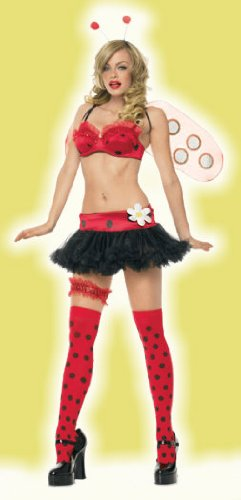 Lady Bug Adult Costume - X-Small -
