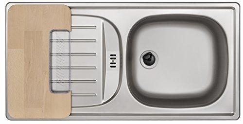 Rieber 72010945 - Lavello E 86 plus set (una vasca e una vaschetta ...