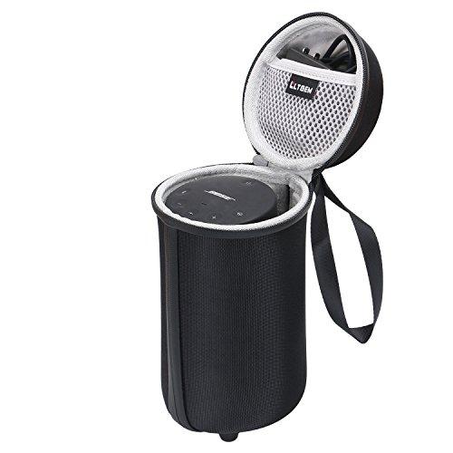 LTGEM Travel Protective Case for Bose SoundLink Revolve+ Portable & Long-Lasting Bluetooth 360 Speaker Fits USB Cable (Not fits Charging Cradle)